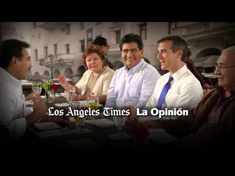 Garcetti TV ad: LA Times, La Opinión, LA Business Journal all endorse Eric Garcetti for LA mayor