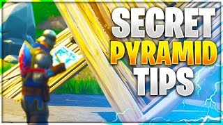 SECRET PYRAMID TIPS! All Uses For The Pyramid In Fortnite! (Fortnite Battle Royale)