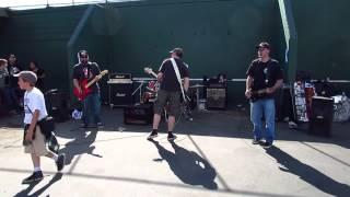 Cheapskate (live) @ Town Sk8 Park Oakland 5.10.2014 (full Set)