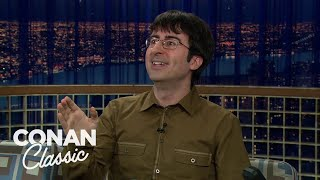 "John Oliver On ""Late Night With Conan O'Brien"" 04/08/08"