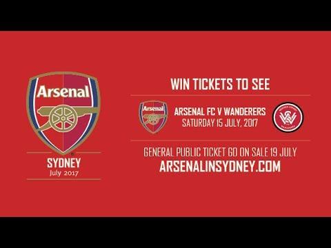 Club Friendlies: Western Sydney Wanderers VS Arsenal