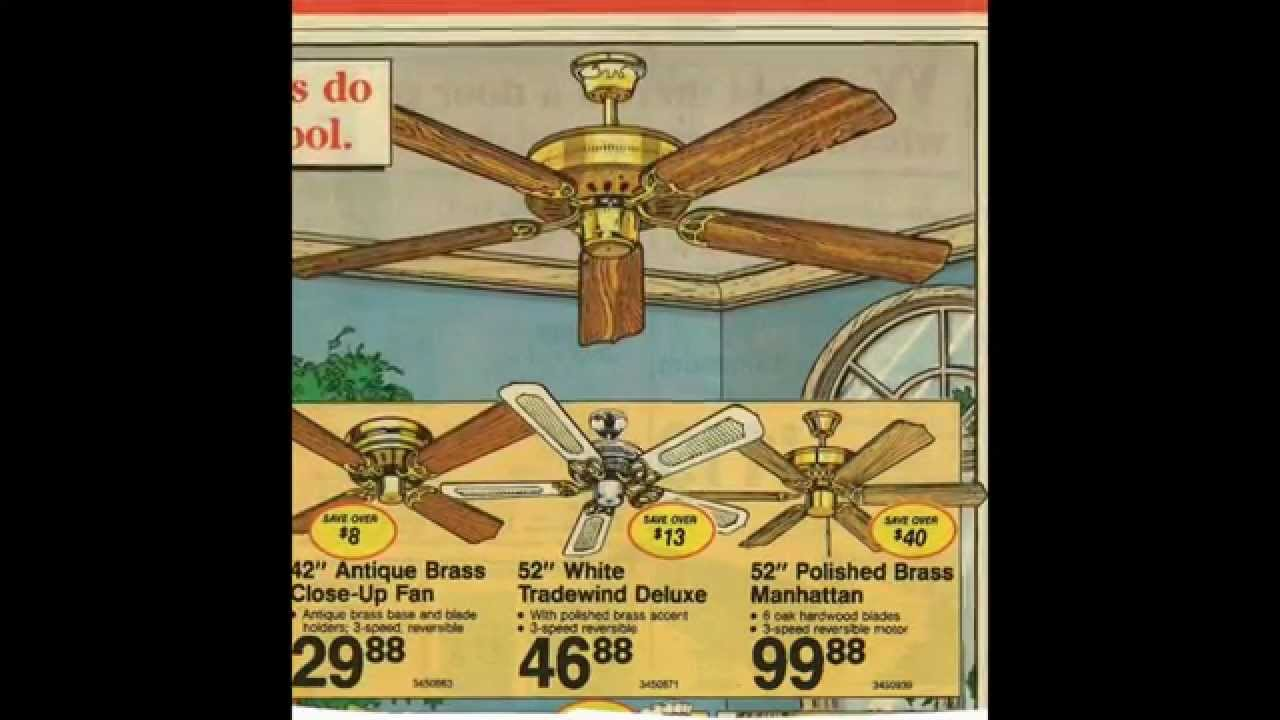 Ceiling Fan Advertisements from the 1980s and 1990s - YouTube