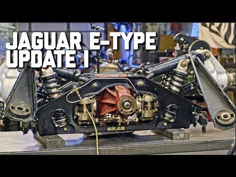 Jaguar E-Type Ripped Apart!  // Revival Daily 91