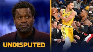 Download Warriors need KD in the WCF vs. Lillard, McCollum & the Blazers — Stephen Jackson | NBA | UNDISPUTED Mp3 and Videos