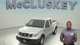 G97766NC Used 2017 Nissan Frontier SV RWD Long Bed Silver Test Drive, Review, For Sale -