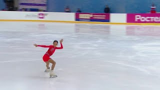 Произвольная программа Девушки Сочи Кубок России по фигурному катанию 2020 21 Третий этап