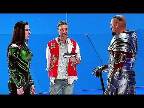 THOR RAGNAROK: On The Set With CATE BLANCHETT