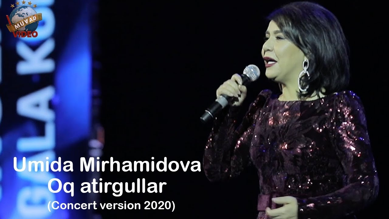 Umida Mirhamidova - Oq atirgullar (concert version 2020) Ona yurt ohanglari
