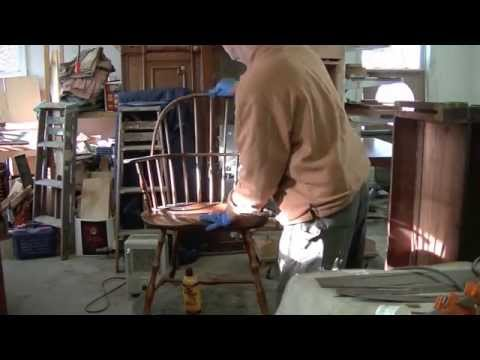 Restoring an Antique Windsor Chair - Thomas Johnson Antique Furniture Restoration