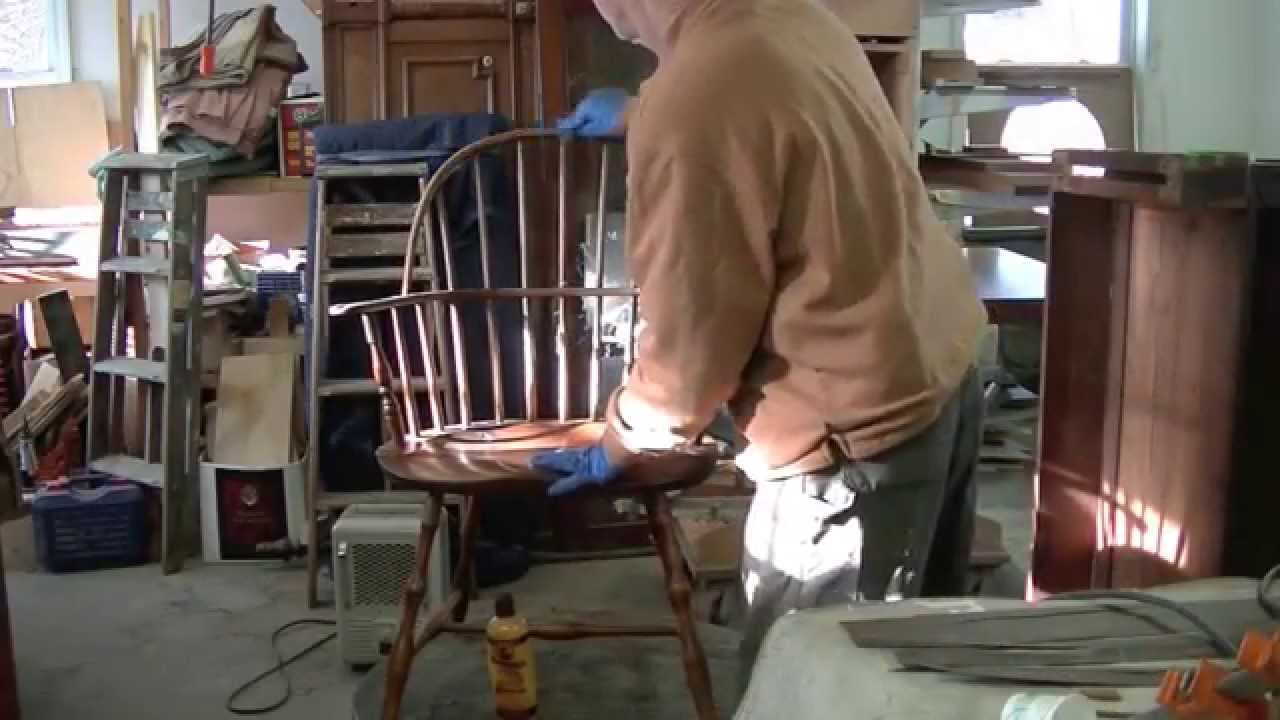 Restoring An Antique Windsor Chair Thomas Johnson
