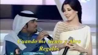 NANCY AJRAM ESPAÑOL- Interpretación de  Ya Tayeb El Galb - Najem El-Khalij 09-  Música Arabe
