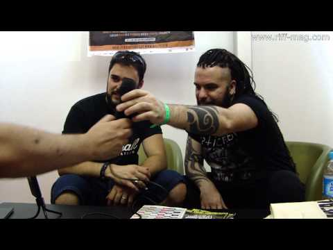 Septicflesh Interview at Hellfest 2014, in Clisson, France.