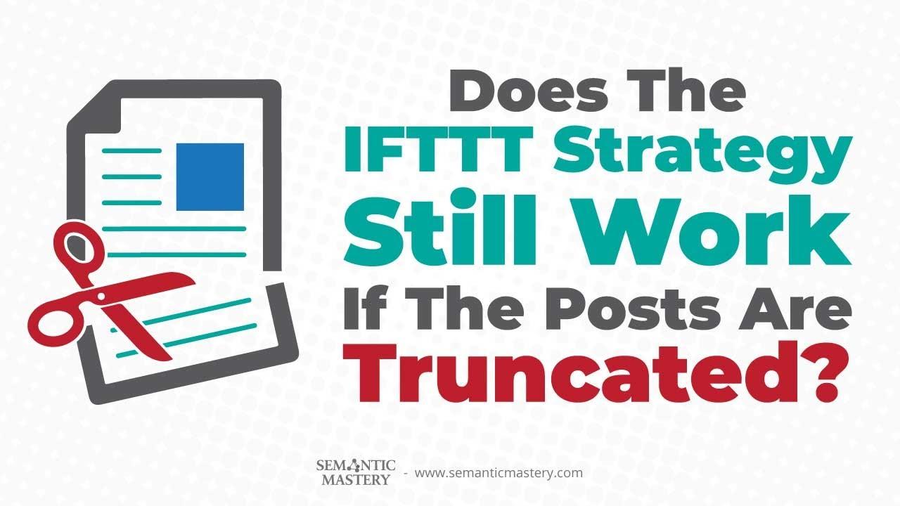 Ifttt Networks   Semantic Mastery