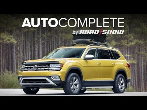 AutoComplete: VW accessorizes Atlas with new Weekend Edition