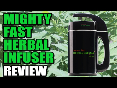 Easiest Way To Make Edibles -  Mighty Fast Herbal Infuser Review | Cannabis Lifestyle TV
