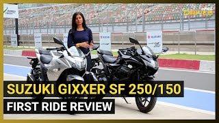Suzuki Gixxer SF 250/150 First Ride Review | Best 250cc Sportbike in India