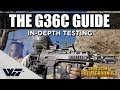 THE G36C GUIDE - What you need to know! In-depth testing & comparison with SCAR-L - PUBG