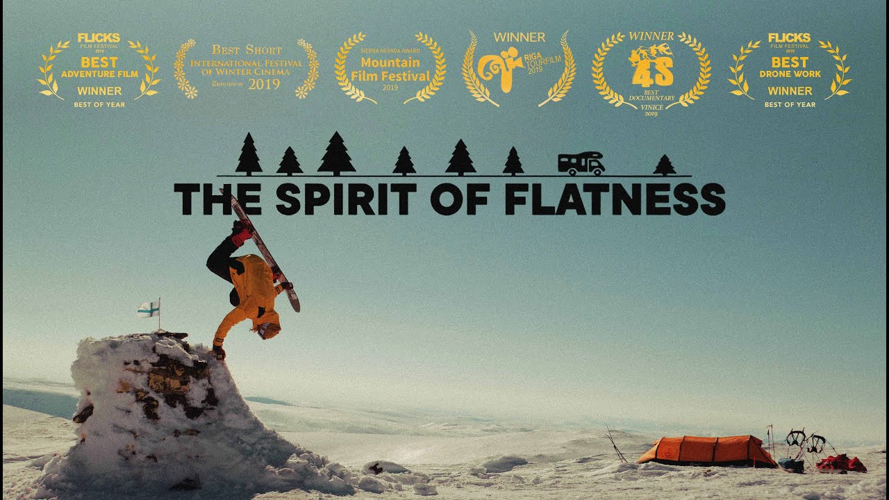 The Spirit Of Flatness | Full Snowboarding movie (4K)