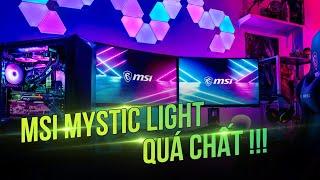 [SỜ CỰC NHANH] MSI Tại Computex 2019 - MSI Mystic Light QUÁ CHẤT