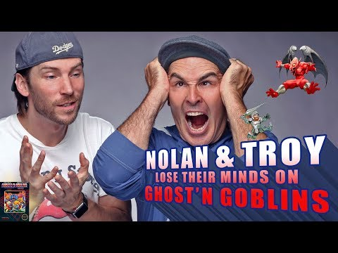 RETRO REPLAY - Nolan and Troy Lose Their Minds on Ghost'N Goblins