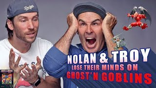 Nolan North and Troy Baker Lose Their Minds on Ghost'N Goblins