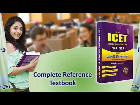 AP & TS ICET 2019 Complete Reference For MBA And MCA Entrance