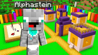 ALPHASTEIN BABY DORF IN MINECRAFT!