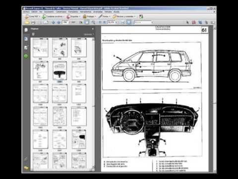 renault espace ii manual de taller service manual manuel rh youtube com renault espace service manual download renault espace repair manual