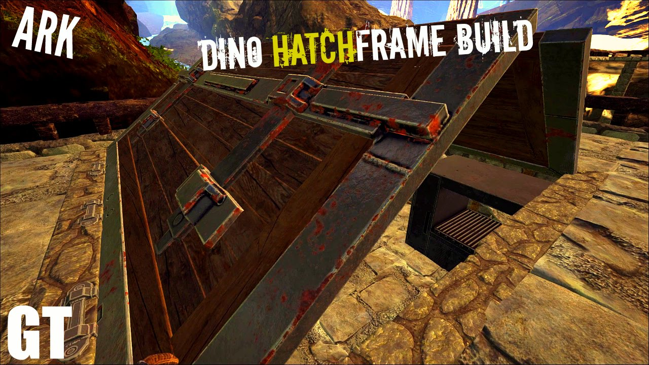 Dino HATCHFRAME Build - Cooking Area (E4) - Ark Survival Evolved - YouTube & Dino HATCHFRAME Build - Cooking Area (E4) - Ark: Survival Evolved ...
