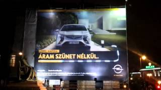 Opel Ampera Reklám a Jókai téren / DJ Store