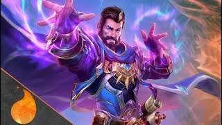 SMITE NEW GOD: MERLIN - THE MASTER WIZARD