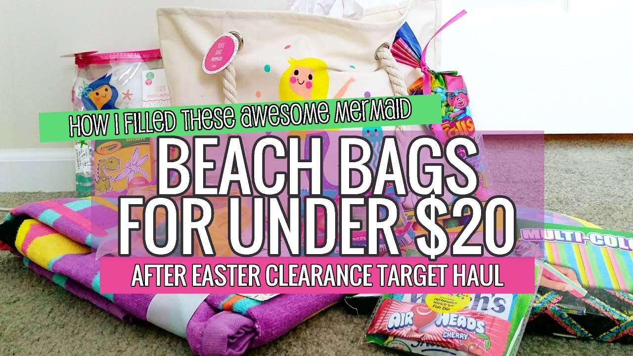 Target After Easter Clearance Haul & Surprise Beach Bags for under ...