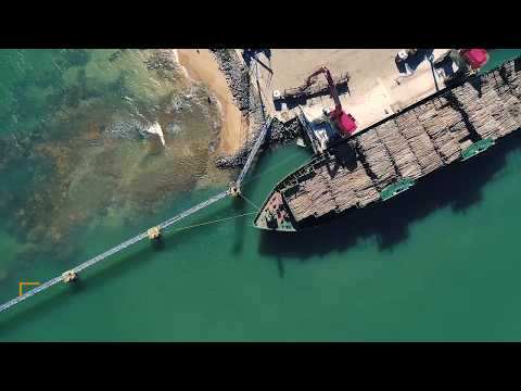 MANTSINEN 160  - Fibria Celulose, Brazil: modernization of roundwood transport