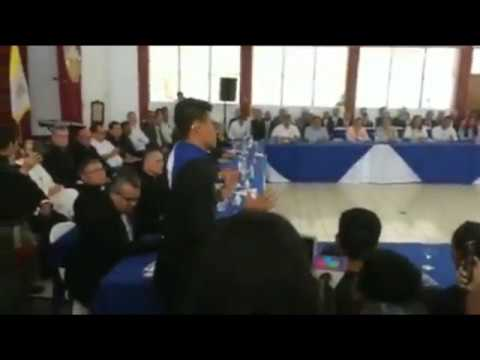 Lesther Aleman's intervention at National Dialogue Nicaragua May 2018 - English subs