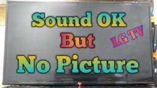 No Picture Sound OK LG TV Repair  (Tagalog)