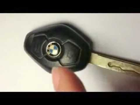 Bmw Key Battery Replacement >> DIY- BMW e46 key fob battery remove/replace - YouTube