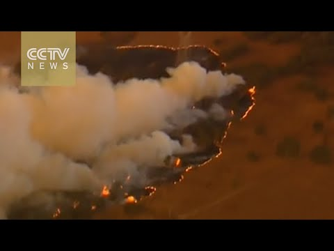 Homes destroyed in Australia wildfires
