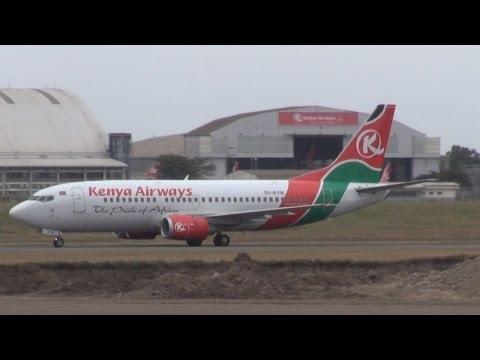 Fly Kenya Airways, Nairobi to Entebbe, Boeing 737-300