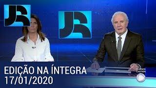 Assista à íntegra do Jornal da Record   17/01/2020