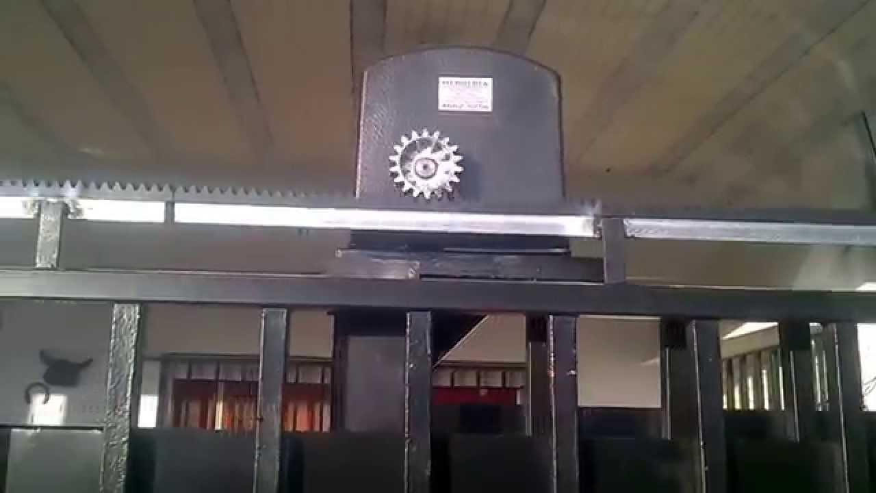 Kit De Automatizacion De Porton Corredizo Youtube