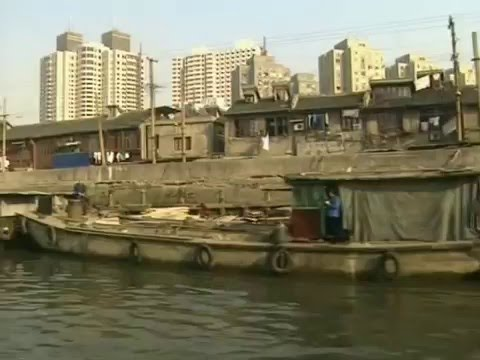 Cleaning up Shanghai's Suzhou Creek
