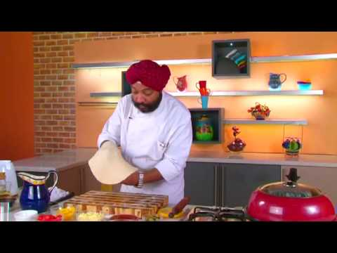 How to make best veg pizza at home without oven by sanjeev kapoor