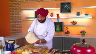 Homemade Vegetable Pizza || Chef Harpal
