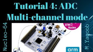 STM32 Nucleo - Keil 5 IDE with CubeMX: Tutorial 4 - ADC Multi mode
