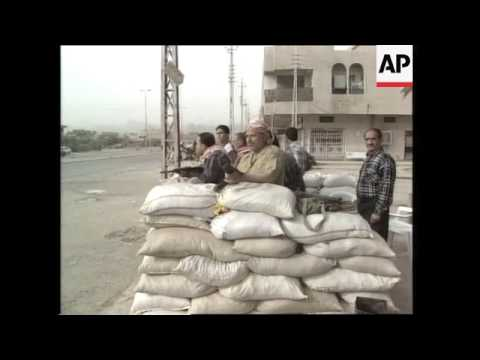 Baghdad Airport, Artillery Firing At Iraqi Battalion, Sentry Posts