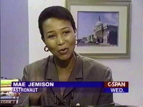Mae Jemison talks about Star Trek • CSPAN • 1994 - YouTube