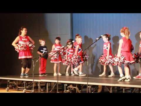 Saint Hilary School Kindergarten Cheer Performance