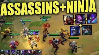 HOW TO BUILD COMPS IN TEAMFIGHT TACTICS   Best TFT Assassins Ninja Comp