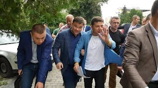 Зеленський приїхав у Трускавець на зустріч зі 'слугами народу'