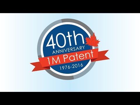 40th anniversary of the grant of the 1 millionth patent in Canada